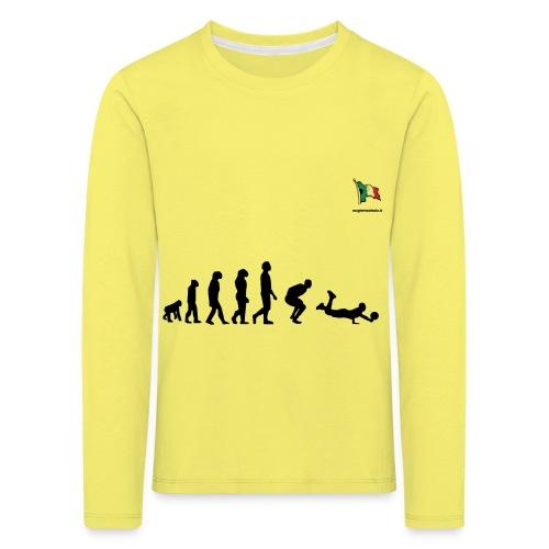 evolution volley defense - Maglietta Premium a manica lunga per bambini