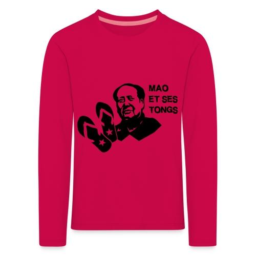 MAO et ses tongs - T-shirt manches longues Premium Enfant