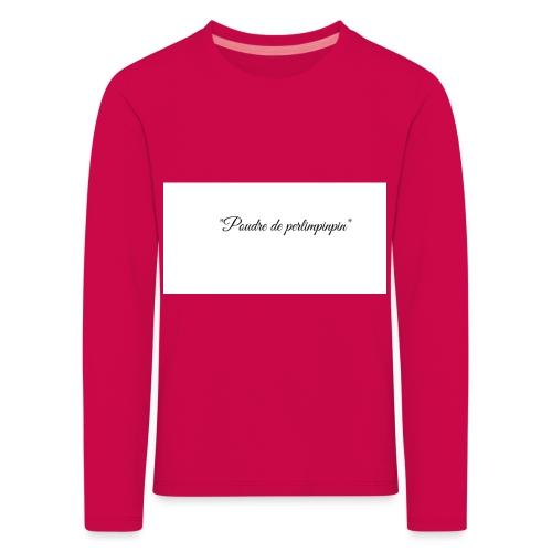 Happy - T-shirt manches longues Premium Enfant