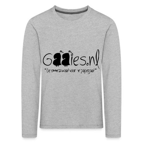 gaaies - Kinderen Premium shirt met lange mouwen