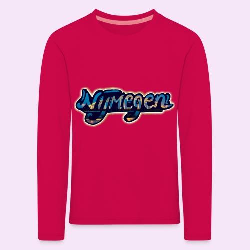 Nijmegen brug - Kinderen Premium shirt met lange mouwen