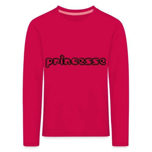 Princesse - T-shirt manches longues Premium Enfant
