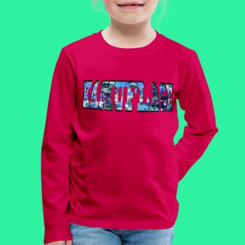 KAMUFLAGE - Kinder Premium Langarmshirt