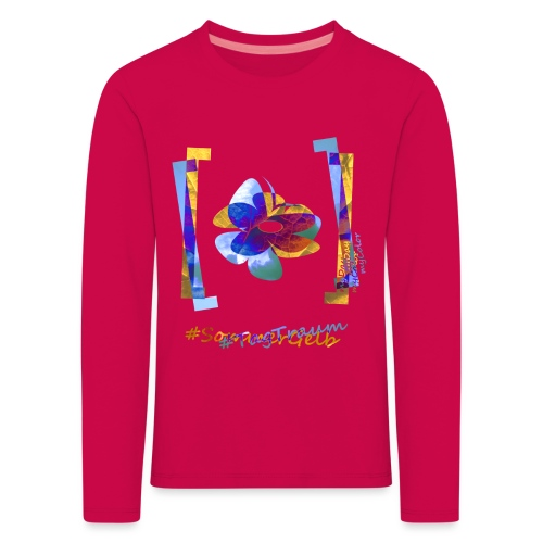 art.4.nature #SommerTraum - Kinder Premium Langarmshirt