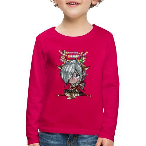 Chibi de Noël - T-shirt manches longues Premium Enfant