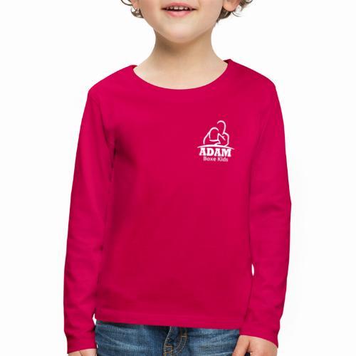 logo adam boxe enfant blanc - T-shirt manches longues Premium Enfant