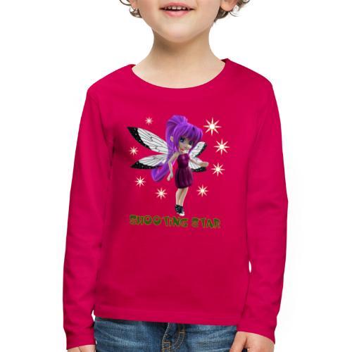 Shooting Star - Kinder Premium Langarmshirt