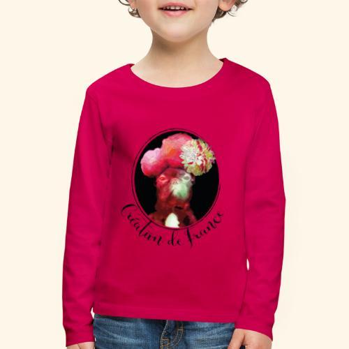 Création de France - T-shirt manches longues Premium Enfant