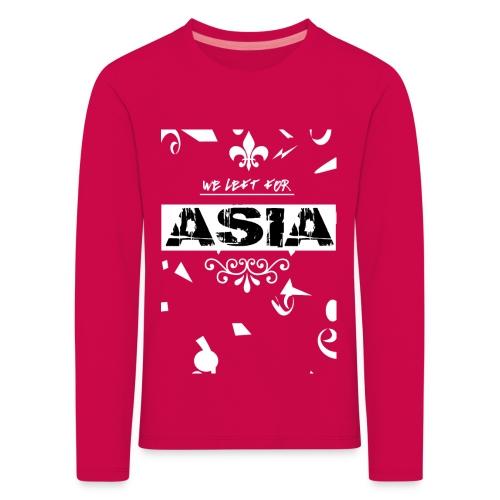 BACK 2 3 png - Kinderen Premium shirt met lange mouwen