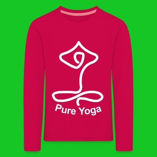 Pure Yoga - Kinderen Premium shirt met lange mouwen