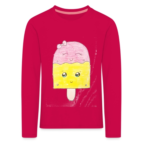 Kids for Kids: Icecream - Kinder Premium Langarmshirt