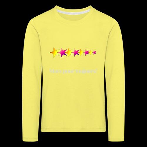 stars pour toujours - T-shirt manches longues Premium Enfant