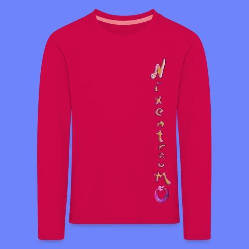 nixentraum8 - Kinder Premium Langarmshirt
