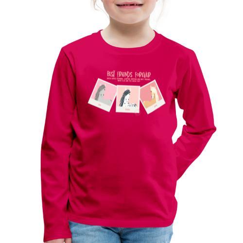 Best horse friends forever - Kids' Premium Longsleeve Shirt