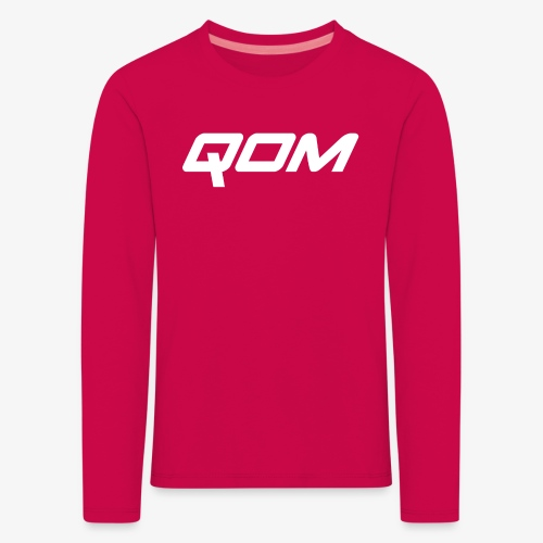 queen of the mountain mtb - Kids' Premium Longsleeve Shirt