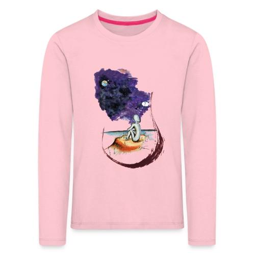 Extraterrestre en contemplation - T-shirt manches longues Premium Enfant