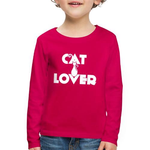 CAT LOVER | Vêtement Pour Femme Et Enfant - T-shirt manches longues Premium Enfant