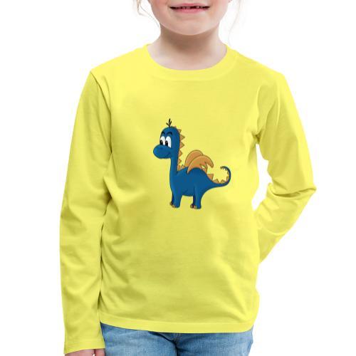 Kleine Drache Djego - Kinder Premium Langarmshirt