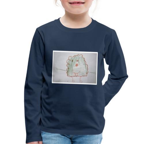 Monsteri - Lasten premium pitkähihainen t-paita