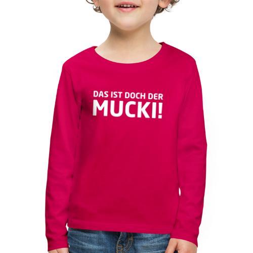 Martin Rütter - Mucki - Langarmshirt - Kinder Premium Langarmshirt