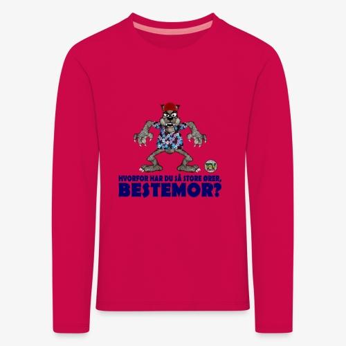 Rødhette og ulven - Premium langermet T-skjorte for barn