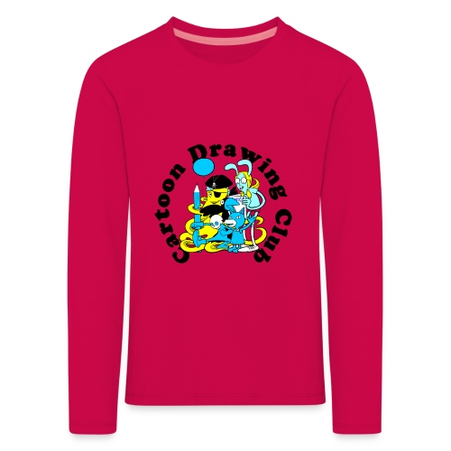 Cartoon Drawing Club - Kids' Premium Longsleeve Shirt