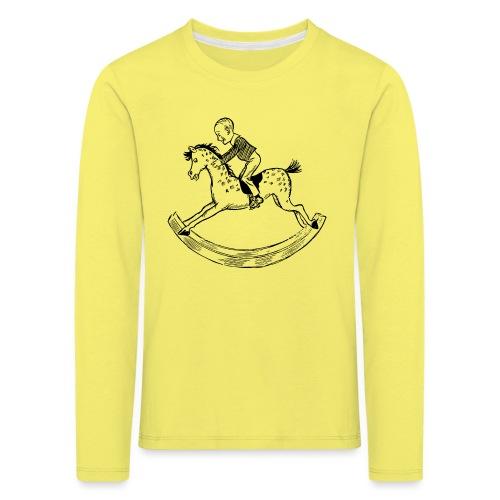 konik na biegunach - Koszulka dziecięca Premium z długim rękawem