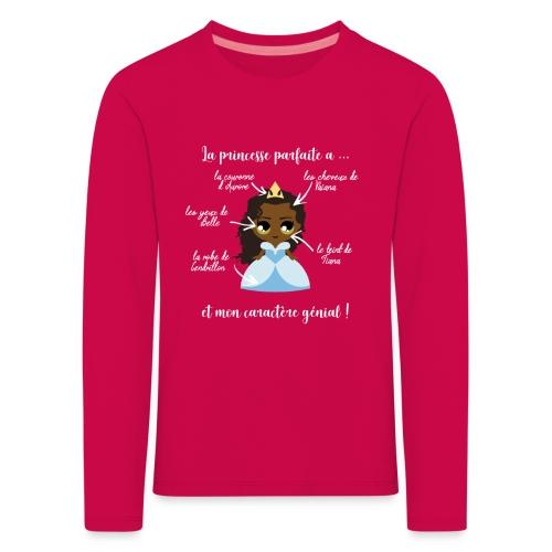 Princesse parfaite - T-shirt manches longues Premium Enfant