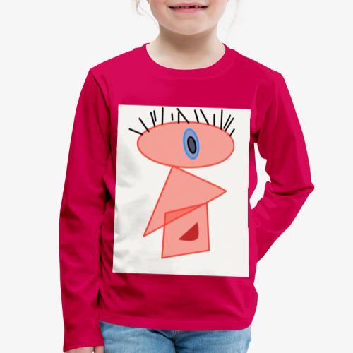 nn - Maglietta Premium a manica lunga per bambini