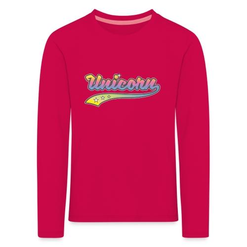 Unicorn Sport - T-shirt manches longues Premium Enfant