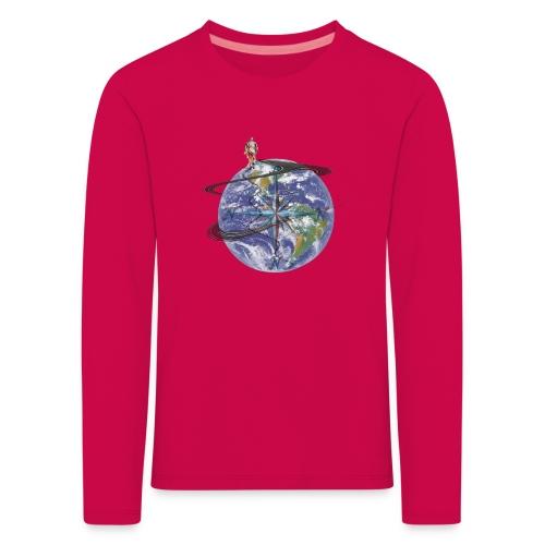 homme terre expression - T-shirt manches longues Premium Enfant
