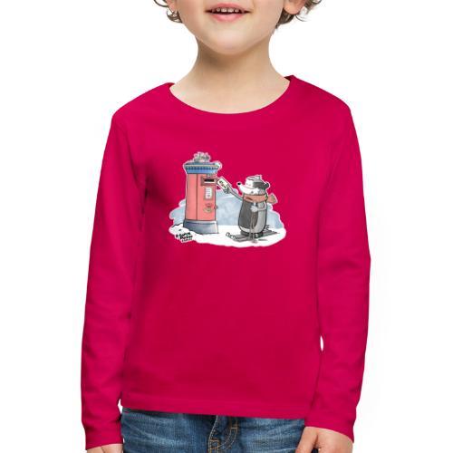 Royal Mail - Premium langermet T-skjorte for barn