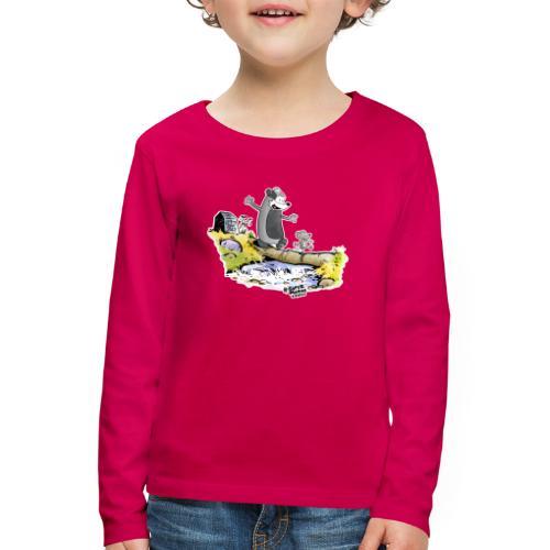 Summer Vibes! - Premium langermet T-skjorte for barn
