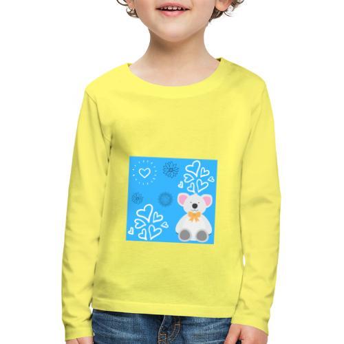 I LOVE ORSETTI - Maglietta Premium a manica lunga per bambini