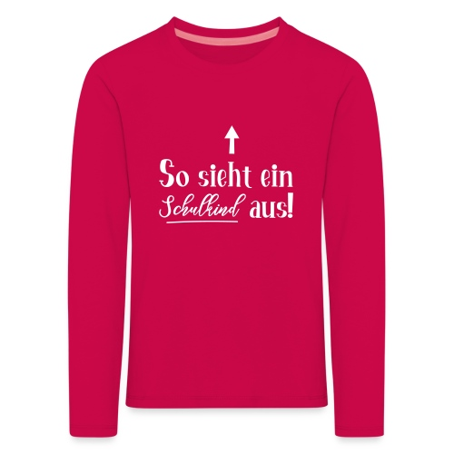 Schulkind 2019 - Kinder Premium Langarmshirt
