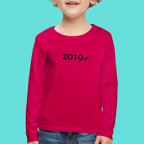 Valide 2019 - T-shirt manches longues Premium Enfant