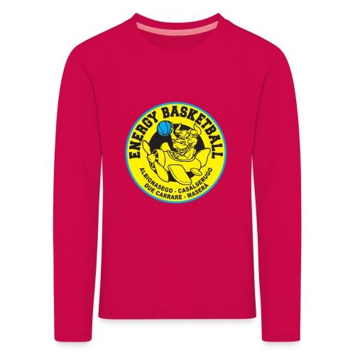 baby energy basketball - Maglietta Premium a manica lunga per bambini