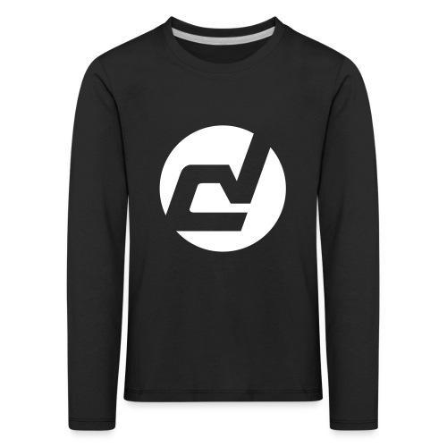 logo blanc - T-shirt manches longues Premium Enfant