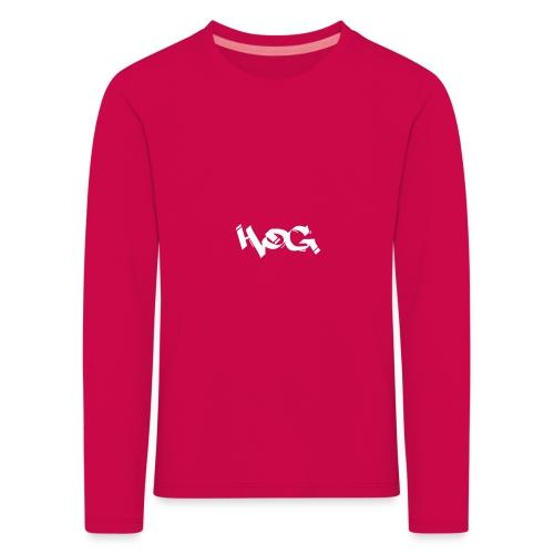 Hog - Camiseta de manga larga premium niño