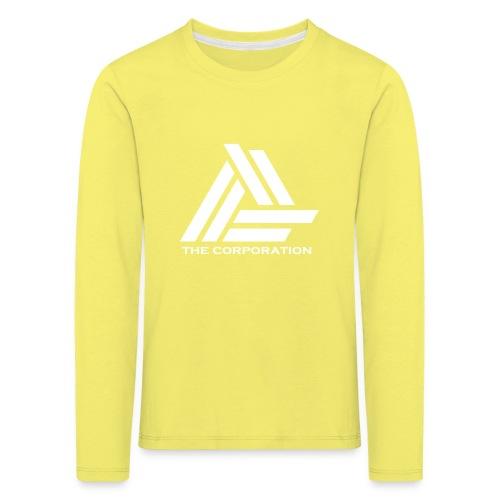 wit metnaam keertwee png - Kids' Premium Longsleeve Shirt