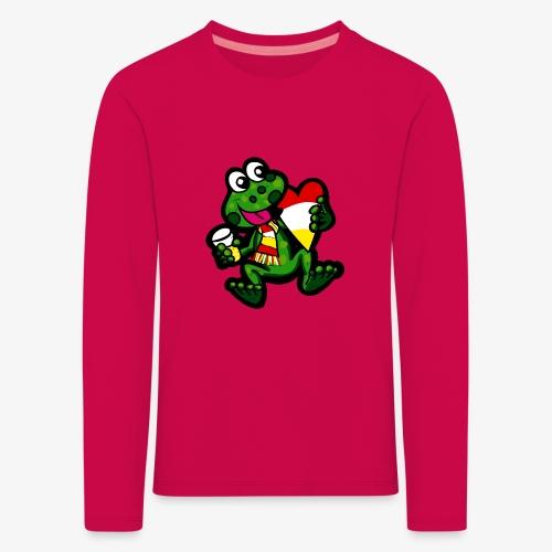 Oeteldonk Kikker - Kinderen Premium shirt met lange mouwen