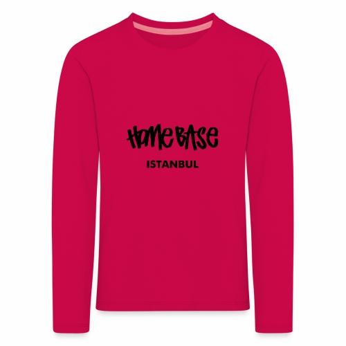 Home City Istanbul - Kinder Premium Langarmshirt