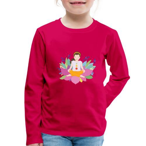 Yogi - Kinder Premium Langarmshirt
