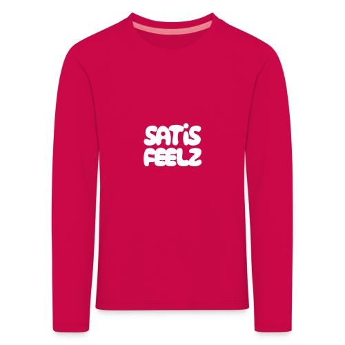 Satisfeelz - Långärmad premium-T-shirt barn