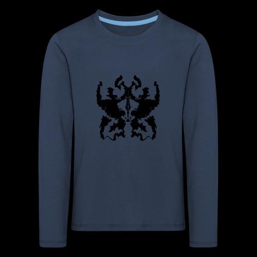 Rorschachtest Design - Kinder Premium Langarmshirt