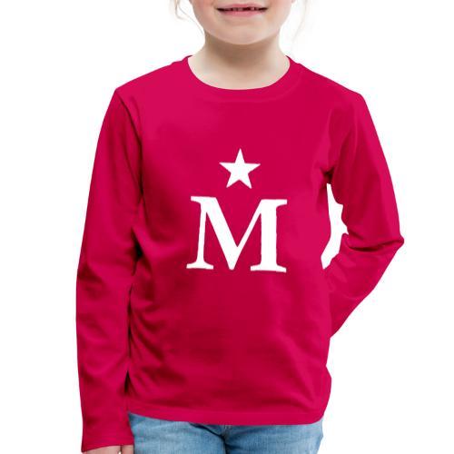 M de Moderdonia blanca - Camiseta de manga larga premium niño