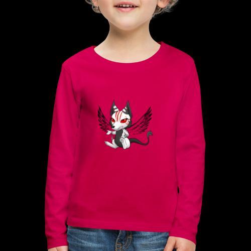 Démon Wolfire - T-shirt manches longues Premium Enfant