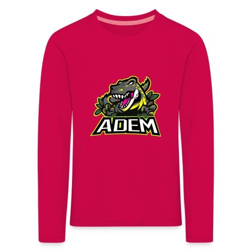 ademdino - Kinder Premium Langarmshirt