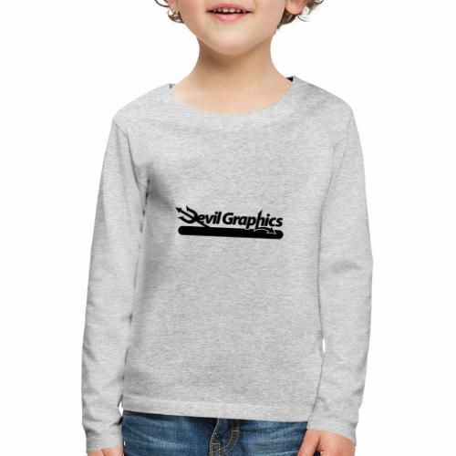 Black Devil Graphics - Kinder Premium Langarmshirt