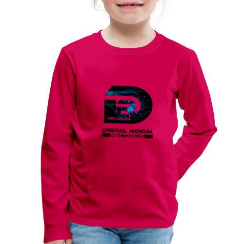 Digital Room Records Official Logo effect - Kids' Premium Longsleeve Shirt